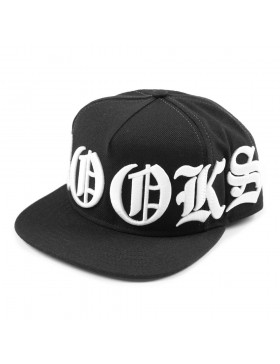 Crooks & Castles Bold snapback black - Sale