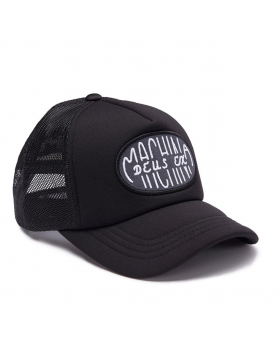 DEUS Capsule Trucker cap - Black