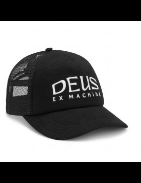 DEUS DL Hat Trucker - black