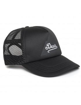 DEUS Peak Trucker cap - black