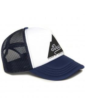 DEUS Peak Trucker cap - Navy