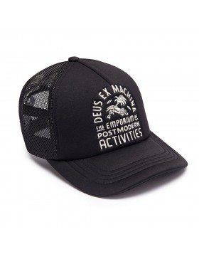 DEUS Hat Trucker EMPORIUM - black