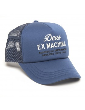 DEUS Hat Trucker House - blue