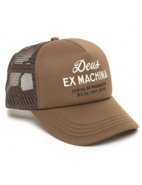 DEUS Hat Trucker House - brown