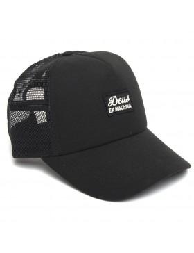 DEUS Hat Trucker Morgan - black