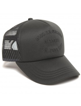 DEUS Hat Trucker NYCITY - black