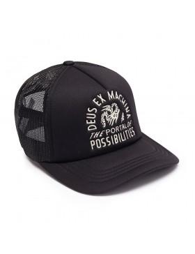DEUS Hat Trucker PORTAL - black