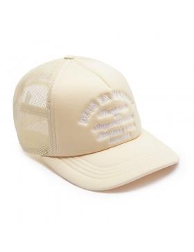 DEUS Hat Trucker Tokyo Address - cream