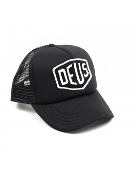 DEUS Trucker cap Baylands Trucker - Black-White