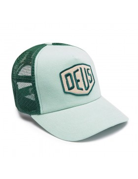 DEUS Trucker hat Foxtrot Shield - mint