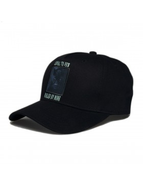 KING Apparel Earlham Techwear Curve Peak cap - Black Panther