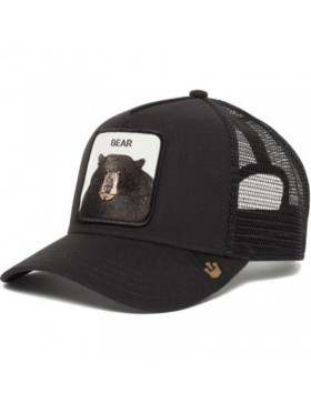 Goorin Bros. Black Bear Trucker cap - Black