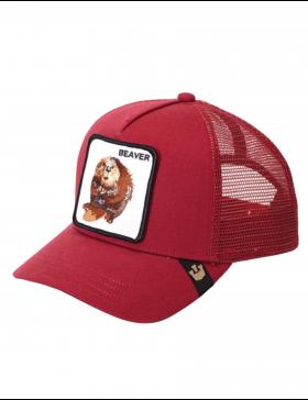 Goorin Bros. Beaver Trucker cap - Big Red