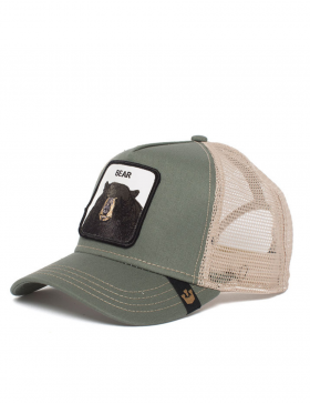 Goorin Bros. Black Bear Trucker cap - Olive