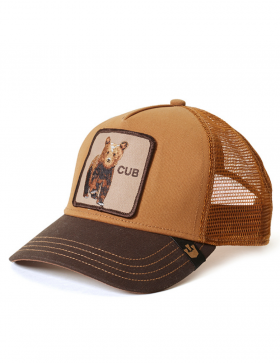 Goorin Bros. KIDS Cub Trucker cap -  Brown