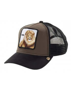 Goorin Bros. King Trucker cap Brown
