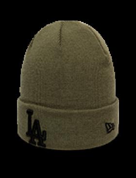 New Era League Essential Cuff Knit Los Angeles Dodgers - Green
