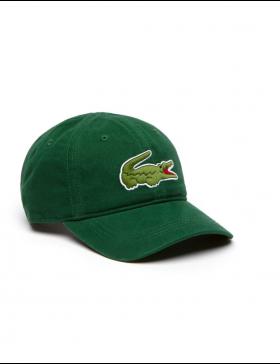 Lacoste cap - Big Croc Gabardine - Green
