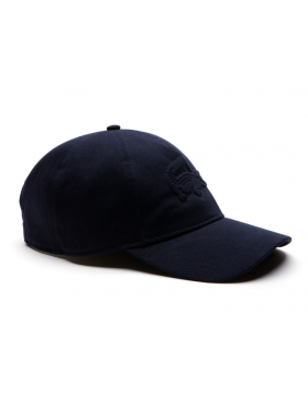 Lacoste hat - Embossed Crocodile - navy blue