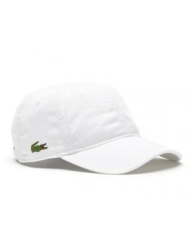 Lacoste hat - Gabardine cap - white