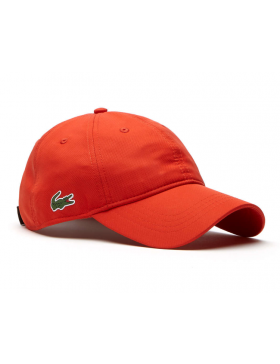 Lacoste hat - Sport cap diamond - etna orange