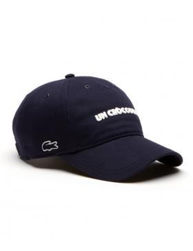 Lacoste hat - Un Crocodile - navy