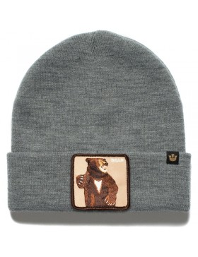 Goorin Bros. Lover Bear Beanie - Grey