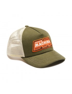 DEUS ex Machina Trucker cap - Rover Green