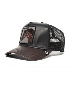 Goorin Bros. Your Majesty Trucker cap - Leather