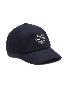 DEUS Moleskin Dad cap - Navy