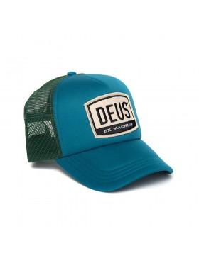 DEUS Moretown Trucker cap - Deep Teal