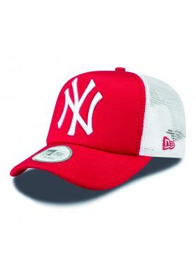 New Era Trucker cap NY New York Yankees - red