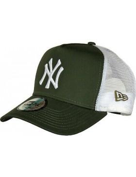 New Era Trucker cap NY New York Yankees - Olive