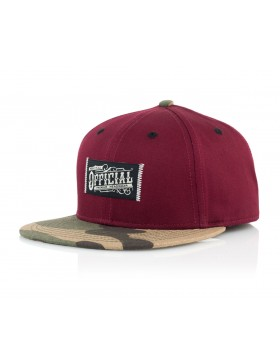 Official Cap Workwear Snapback - camo