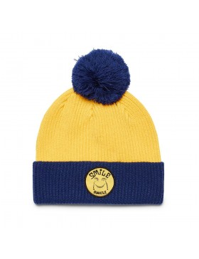 DEUS Paul McNeil Smile Beanie - Super Lemon