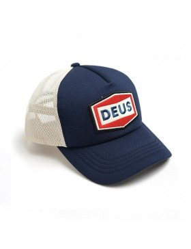 DEUS Speed Stix Trucker cap - Navy