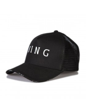 KING Apparel Stepney Curved Trucker cap - Black