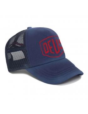 DEUS Sun Bleached Trucker cap - Estate Blue
