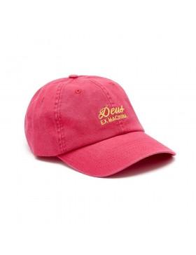 DEUS Sunbleached cap - Carmine