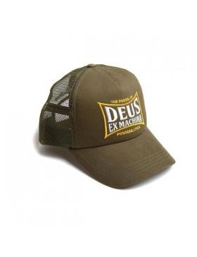 DEUS Twinbox Trucker cap - Bark