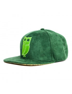Veryus Clothing - Kakapo Snapback - Green