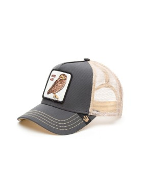 Goorin Bros. Owl Big Ass Trucker cap - Grey