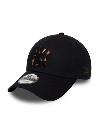 New Era 9Forty Camo Infill (940) NY Yankees - Navy