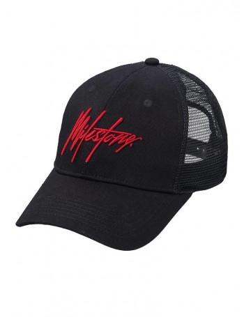 Milestone Relics Signature Trucker - Black / Red - (PRE-order)