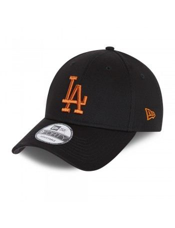 New Era 9Forty League Essential (940) LA Dodgers - Black/Bronze