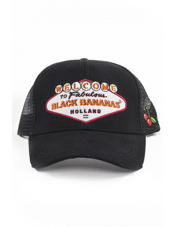 Black Bananas Vegas Trucker cap Black