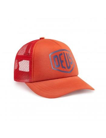 DEUS Sun Bleached Trucker cap - Red Clay