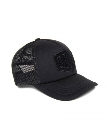 DEUS Hayward Shield Trucker cap - Black