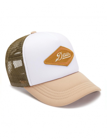 DEUS Hat Diamond Trucker - tan