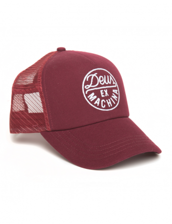 DEUS Hat Hackman 2 Trucker - maroon